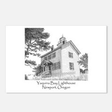 Yaquina Bay Lighthouse Postcards (Package of 8)