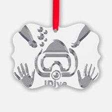 IDIVE 2010 SILVER Ornament