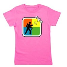 GeoCache Man Girl's Tee