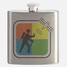 GeoCache Man Flask