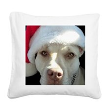 2-christmas lola Front Square Canvas Pillow
