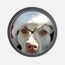 2-christmas lola Front Wall Clock