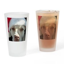 2-christmas lola Front Drinking Glass