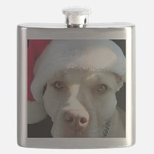 2-christmas lola Front Flask