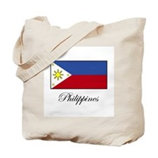 Philippines - Flag Tote Bag