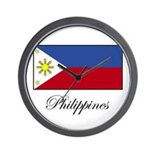 Philippines - Flag Wall Clock