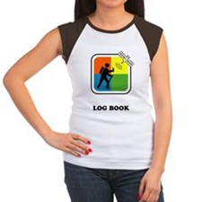 GeoCache Log Book Women's Cap Sleeve T-Shirt