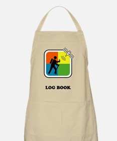 GeoCache Log Book Apron