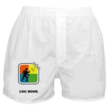 GeoCache Log Book Boxer Shorts