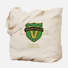 vegan police 3 Tote Bag