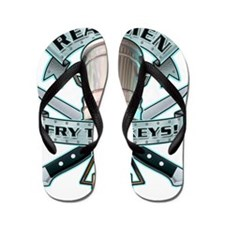fryBoth Flip Flops