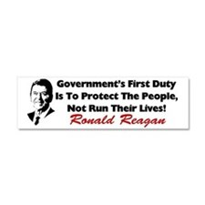 reaganprotectcafe Car Magnet 10 x 3