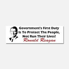 reaganprotectcafe Car Magnet 10 x 3