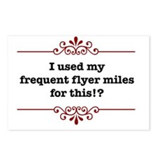 frequentflyerLight Postcards (Package of 8)