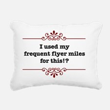 frequentflyerLight Rectangular Canvas Pillow