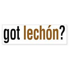 gotLechonLight Bumper Sticker