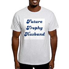 Future Trophy Husband Ash Grey T-Shirt