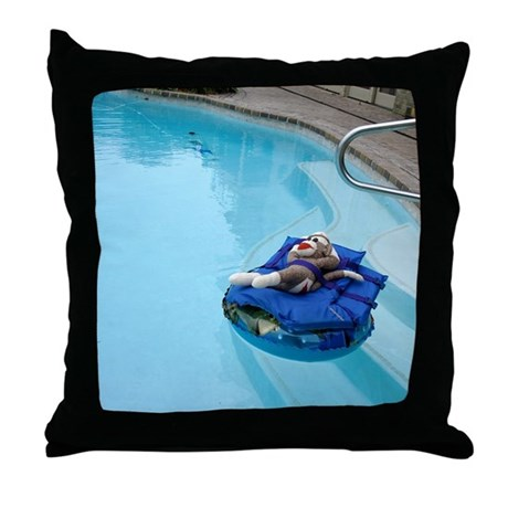 Pool Blue Throw Pillows : 2-pool Throw Pillow by Admin_CP12102580