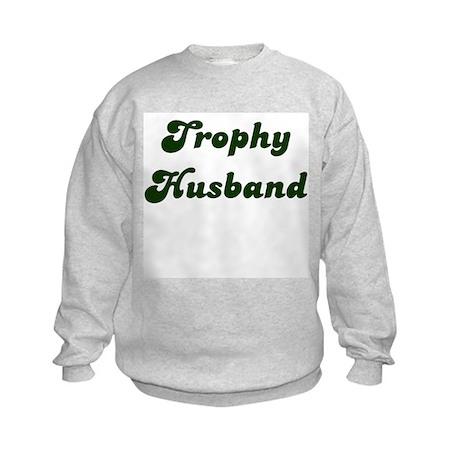 Trophy Boyfriend Kids Sweatshirt