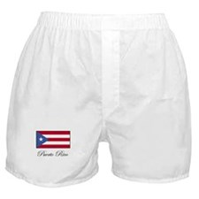 Puerto Rico - Puerto Rican Fl Boxer Shorts