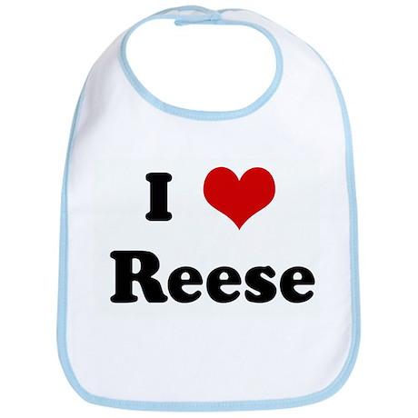 I Love Reese Bib