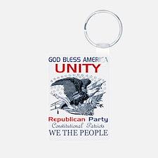 Republican Unity Keychains