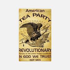 Tea Party Revolutionary 3'x5' Area Rug