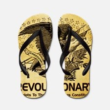 Tea Party Revolutionary Flip Flops