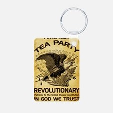Tea Party Revolutionary Keychains
