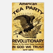 Tea Party Revolutionary Postcards (Package of 8)