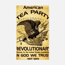 Tea Party Revolutionary Sticker (Rectangle)
