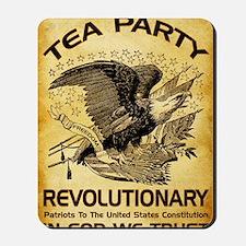 Tea Party Revolutionary Mousepad