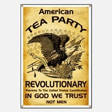 Tea Party Revolutionary Banner