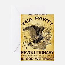 Tea Party Revolutionary Greeting Card