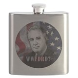 Franklin roosevelt Flask Bottles