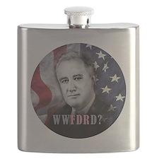 2-WWFDRD Circle  Flask
