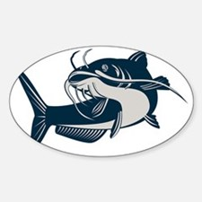catfish swimming up Decal