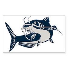 catfish swimming up Decal
