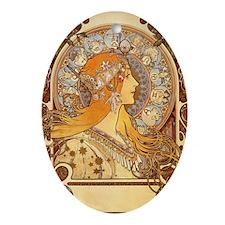 am_Zodiac_R Oval Ornament