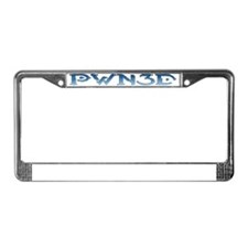 PWN3D_Crop License Plate Frame