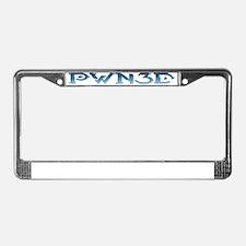PWN3D_Crop License Plate Frame
