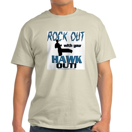 Rock Out With Your Hawk Out Com Light T-Shirt