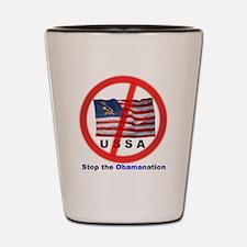 USSA7-Obamanation Shot Glass