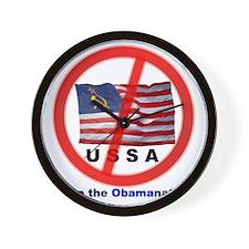 USSA7-Obamanation Wall Clock