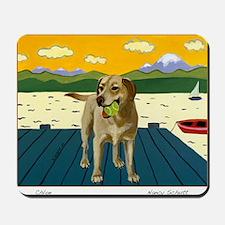 chloe card Mousepad