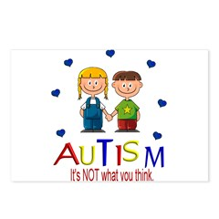 Autism It's not what you thin Postcards (Package o