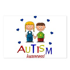 AUTISM AWARENESS! Postcards (Package of 8)