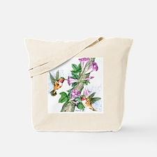 Humming Birds - Tile Tote Bag