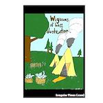 Wigwams of Bass Destruction Postcards