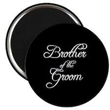 "Brother Of Groom - Formal 2.25"" Magnet (10 pack)"
